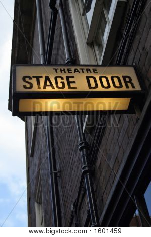 Theater Stage Door