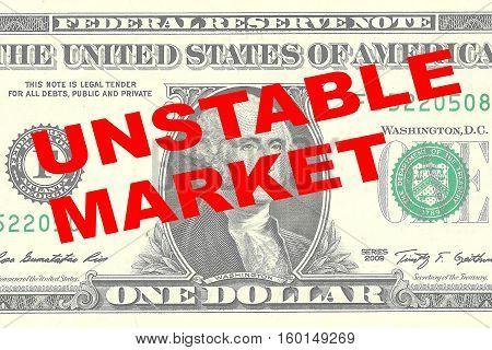 Unstable Market Concept
