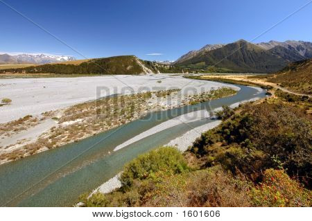 Wilberforce River And Mount Algidus