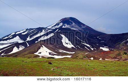 Kamchatka; Volcano Avachinsky