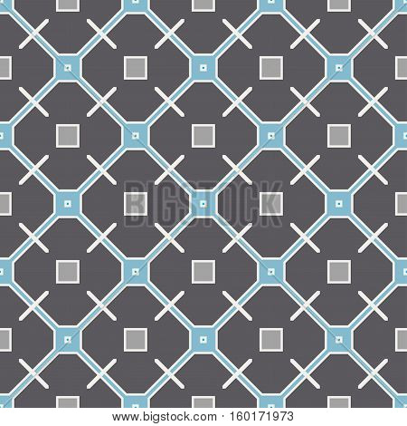 Color Seamless Wallpaper. Vintage Pattern. Grey Retro Background