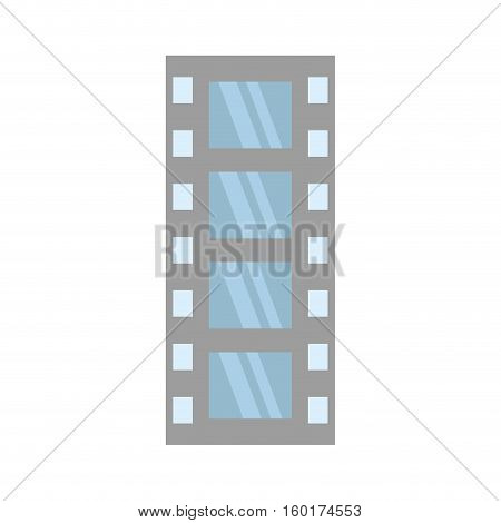 film strip negative equipment video vector illustration esp 10