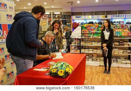 Eskisehir, Turkey - December 04, 2016: Famous Turkish Journalist And Writer