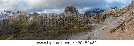 Tre Cime del Lavaredo, South Tyrol, Dolomiti, Italy