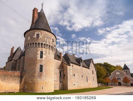 Fougeres-sur-bievre, French Castle