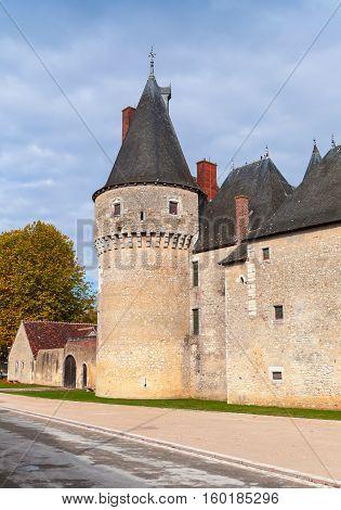 The Chateau De Fougeres-sur-bievre