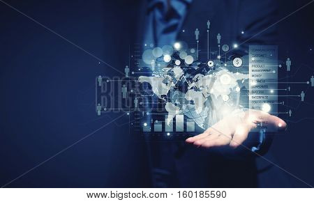 Presenting new technologies . Mixed media