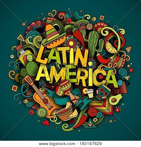 Latin America Vector Photo Free Trial Bigstock