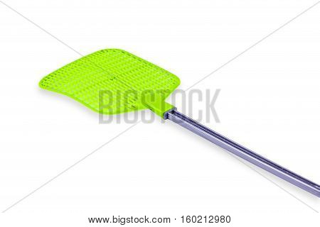 fly swatter isolate on the white background