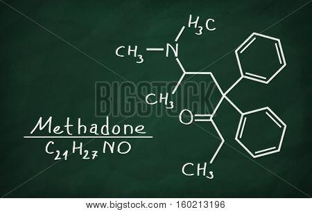 Structural Model Of Methadone