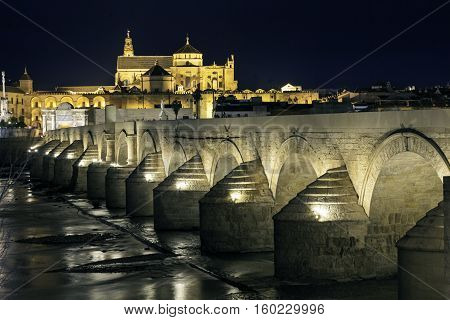 Majestic religious monument inexorable Arab to the time.  Considered one of the exchequers of Spain. Mosque of Cordova