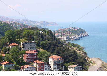 Zonguldak City in Black Sea, North Turkey.