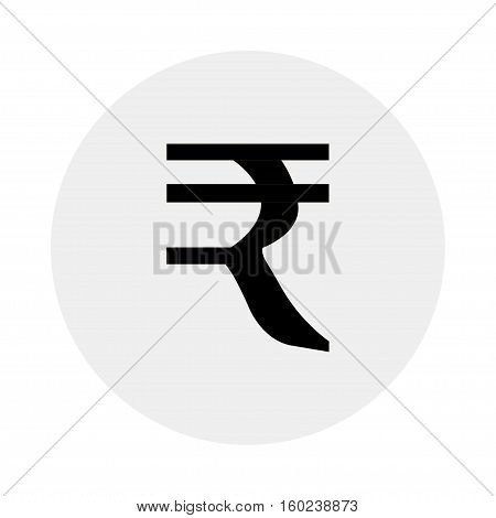 Currency of India on a grey background