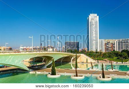 Puente de Monteolivete, a bridge in Valencia - Spain