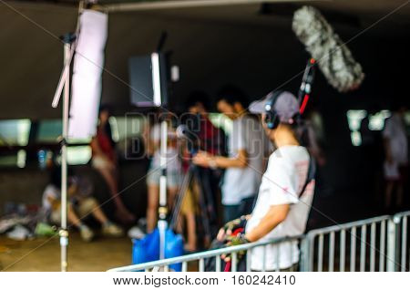 Blurred Picture, Background, Movie Film Set