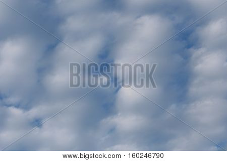 Blue Sky Cloud in nature background - skyscape