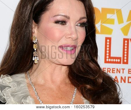 LOS ANGELES - DEC 4:  Lisa Vanderpump at the TrevorLIVE Los Angeles 2016 at Beverly Hilton Hotel on December 4, 2016 in Beverly Hills, CA