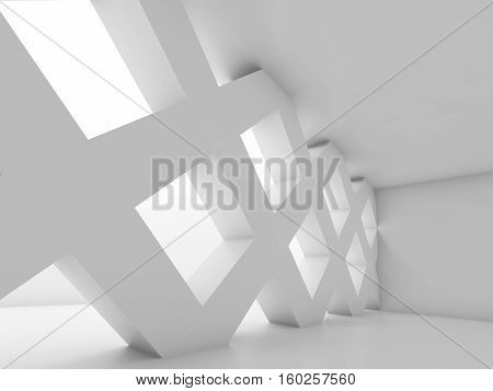 Partition Made Of Square Cell Girders 3D