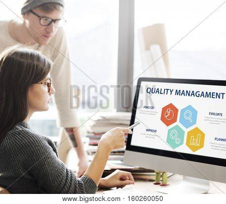 Quality Assurance Guarantee Warranty Trustworthy Concept