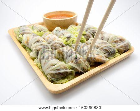 Stuffed Cabbage Rolls.