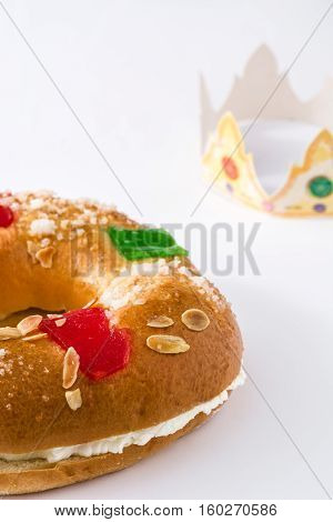 Spanish typical dessert of epiphany