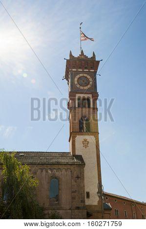 The church in Cavalese Trentino Alto Adige