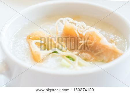 Congee Rice Porridge with pork