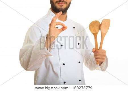Chef Isolated On White Background