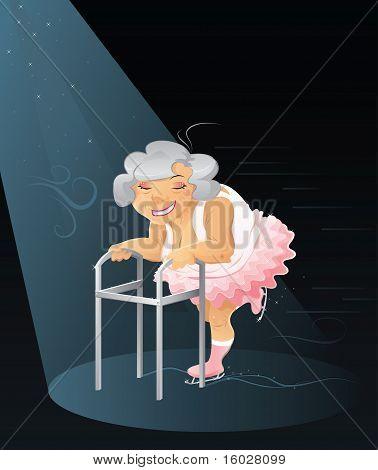 Granny ballerina