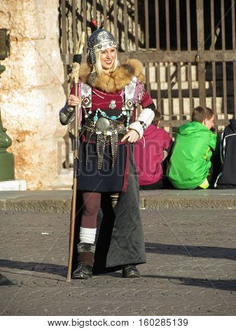 Roman Soldier In Verona