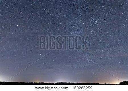 Cosmos Background.constellations Cassiopeia, Andromeda, Cepheus, Lacerta, Pegasus, Draco, Cygnus