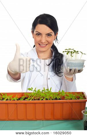 Successful Agricultural Worker