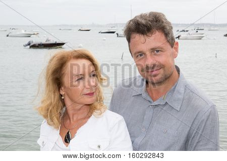 Couple Of Fifties Years Old In Tourism Day