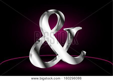 Ampersand vector icon , Elegant and stylish ampersands