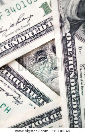 Conceptual  Dollars Photo