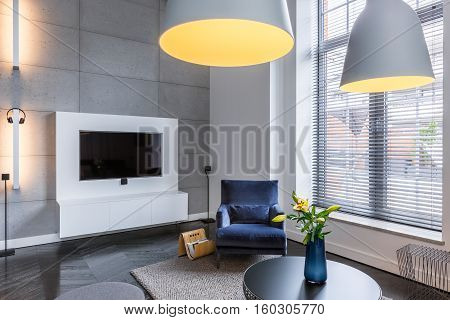 Tv Room With Armchair
