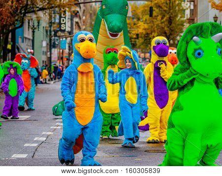Thanksgiving Macy Parade 2016