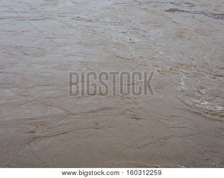 Brown Muddy Water Surface Background