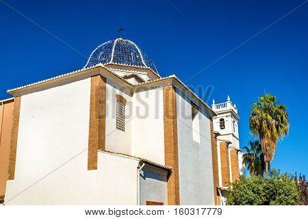 Iglesia Parroquial de Nuestra Senora de Monteolivete, a church in Valencia - Spain