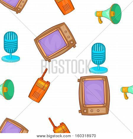 Headline pattern. Cartoon illustration of headline vector pattern for web
