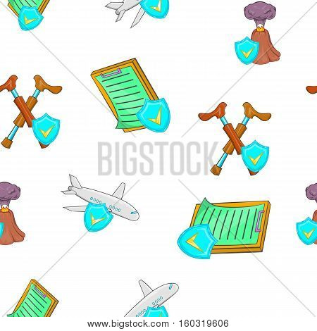 Crash pattern. Cartoon illustration of crash vector pattern for web