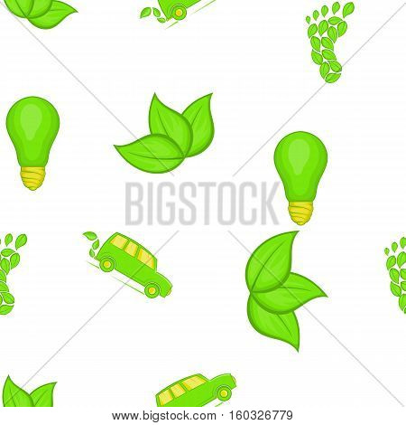 Conservation pattern. Cartoon illustration of conservation vector pattern for web