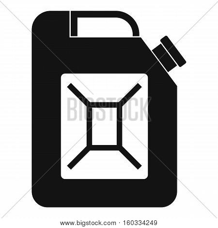 Jerrycan icon. Simple illustration of jerrycan vector icon for web