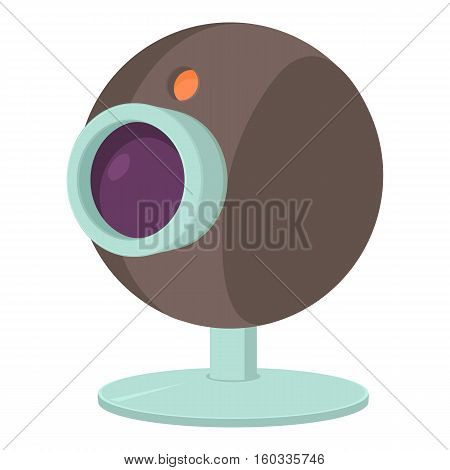 Webcam icon. Cartoon illustration of webcam vector icon for web