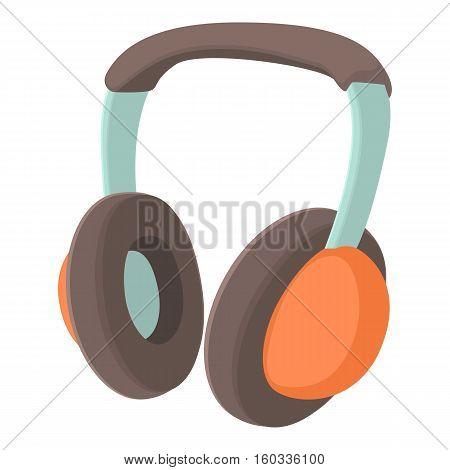 Headphones icon. Cartoon illustration of headphones vector icon for web