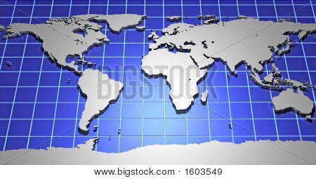 3D Earth Map