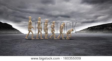 Inverse Evolution