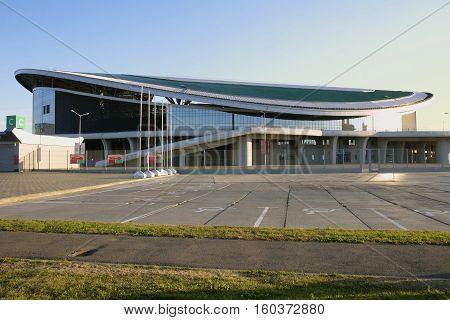 KAZAN, RUSSIA - AUGUST 27, 2016: Sports complex Kazan arena, Kazan, Russia