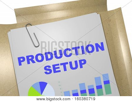 Production Setup - Business Concept