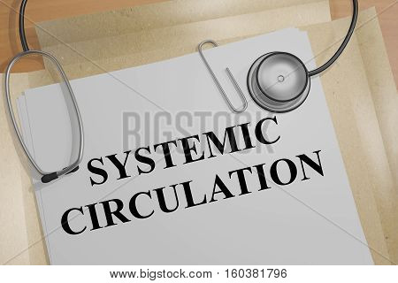 Systemic Circulation - Medical Concept